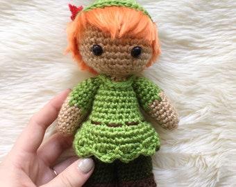 ed3eda005c3 Peter Pan Inspired Crochet Doll!