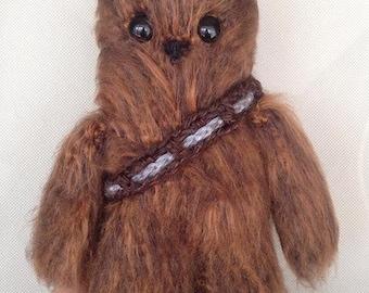 Star-wars Inspired Crocheted Chewbacca!