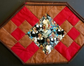Thanksgiving Quilted Placemat Set