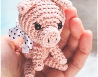 Crochet Pattern Little Piggy / PDF