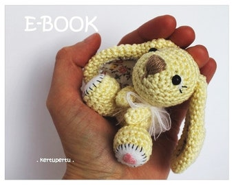 Crochet Pattern Little Bunny / Big Ears PDF