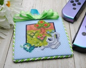 Cross Stitch Pattern - Gardening  - Animal Crossing