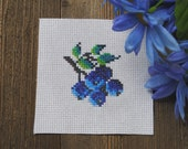 Cross Stitch Pattern - Blueberries