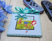 Cross Stitch Pattern - Bug Hunt - Animal Crossing