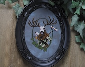 Cross Stitch Pattern - Leshen - Witcher