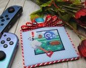 Cross Stitch Pattern - Fossil Hunt - Animal Crossing