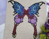 Cross Stitch Pattern - Bayonetta Butterfly