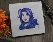 Cross Stitch Pattern - Abigail Portrait - Stardew Valley