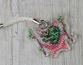 Acrylic Charm - Korok Cross Stitch