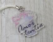 Acrylic Charm - Amortentia Cross Stitch