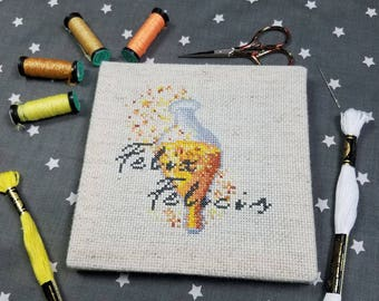 Cross Stitch Pattern - Felix Felicis - Harry Potter
