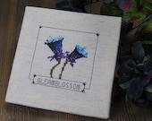 Cross Stitch Pattern - Gleamblossom - Elder Scrolls Skyrim