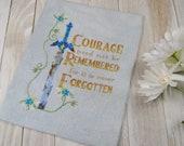 Cross Stitch Pattern - Courage - Legend of Zelda Breath of the Wild