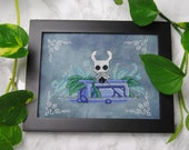 Cross Stitch Pattern - The Knight - Hollow Knight