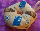 Cross Stitch Pattern - Doctor Who Biscornu / Pincushion / Ornament