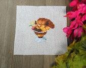 Cross Stitch Pattern - Vulpix Sundae