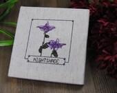 Cross Stitch Pattern - Nightshade - Elder Scrolls Skyrim