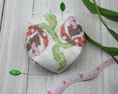 Cross Stitch Pattern - Piranha Plant Biscornu / Pincushion / Ornament - Mario