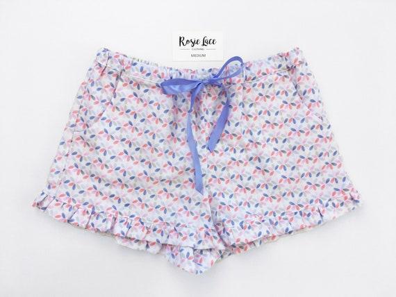 5b4433eb537 Pastel flower women s pyjama shorts Australia comfortable