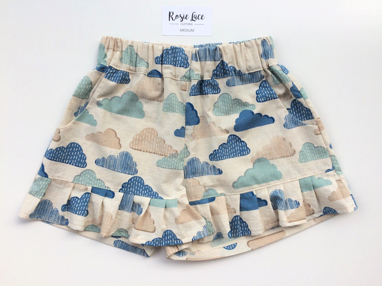 87f4afe1ca Linen pajamas cloud pj shorts unique pyjama shorts stylish