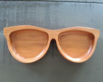 Sunglasses Wood Tray - Sunnies Wood Catchall - Sunglasses Dish