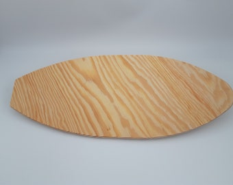 """Surfboard Blanks - Surfboard for Crafts - Unfinished Blank 12"""" Surfboard for Painting, Decorating, Woodburning - Free Shipping"""