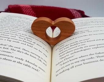 Heart Book Buddies - Heart-Shaped Book Holder - Teacher's Gift - Teaching is a Work of Heart - Book Lover - I Love You More Than Books