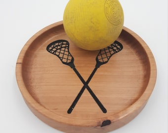 Sports Trays - Wood Trays for Coaches, Players - Baseball, Soccer, Lacrosse, Volleyball, Softball, Basketball - Coach Gift