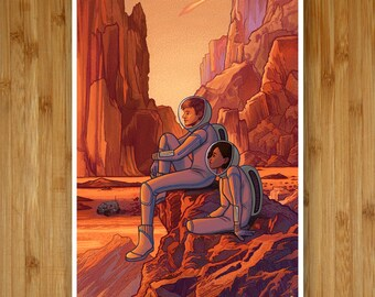 Homeworld - 12x18 Art Print