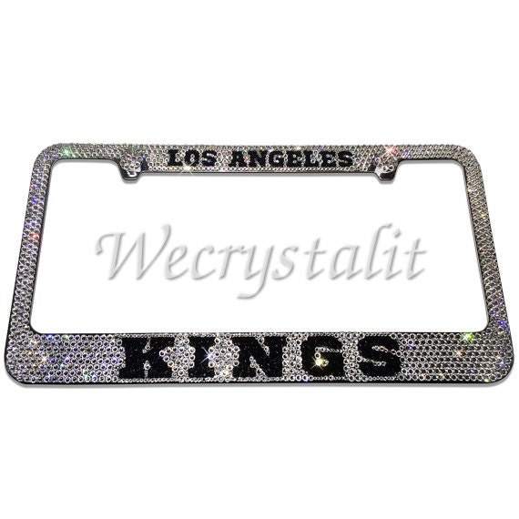 LOS ANGELES KINGS Hockey Crystal Sparkle Auto Bling Rhinestone ...