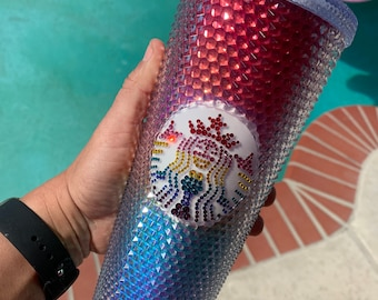 2020 Starbucks Pride tumbler brand new never used with Swarovski crystals added