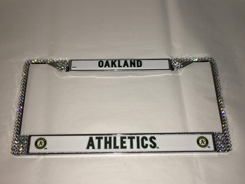 Oakland Athletics Baseball Frame Crystal Sparkle Auto Bling ...