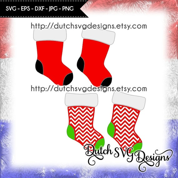 Christmas Stockings Png.2 Christmas Stockings In Jpg Png Svg Eps Dxf For Cricut Silhouette Stockings Svg Socks Svg Christmas Svg Christmas Stockings Svg