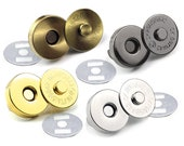 10sets Multi-Size Heavy Duty Magnetic Snaps Closure Button Strong Force Clasps Premium Quality