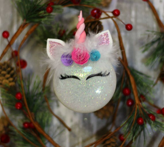 image 0 - Unicorn Ornaments Unicorn Christmas Ornament Unicorn Gift Etsy