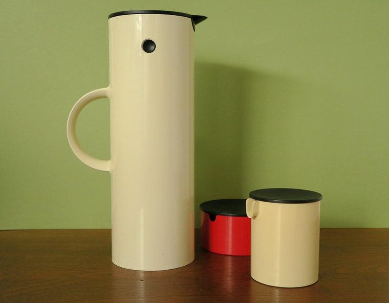 Du Blanc Pour Des DanoisErik De Stelton Isotherme 1970Classique Bouteille Thé Thermos Design MagnussenVerseuse Café Ou Années 1l EDH9I2YeW