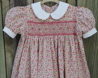 Smocked Yoke Dress - Sz 2