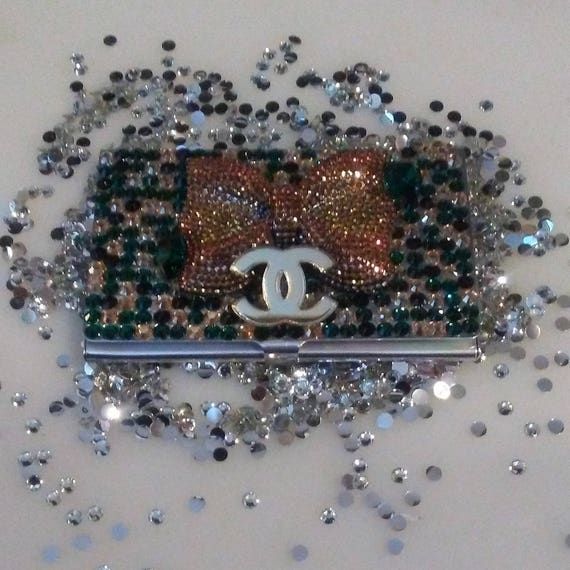 Authentic Swarovski Business Card Case