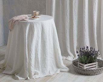 Extra Large Round Table Cloth.Round Tablecloth Etsy