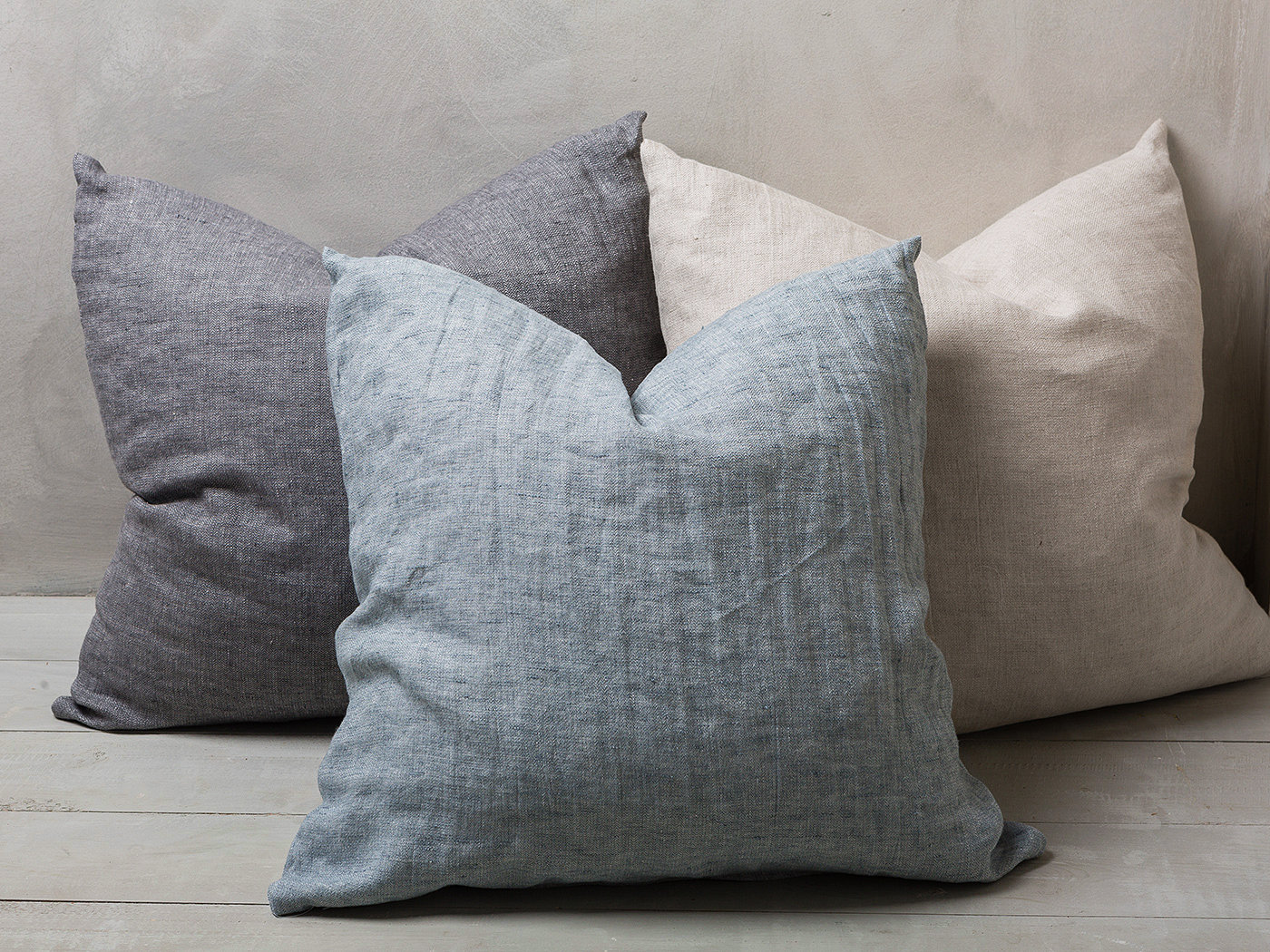 Linen Pillowcase Linen Pilow Cover Decorative Pillow Stonewashed Pillowcase Lumbar Pillow Covers
