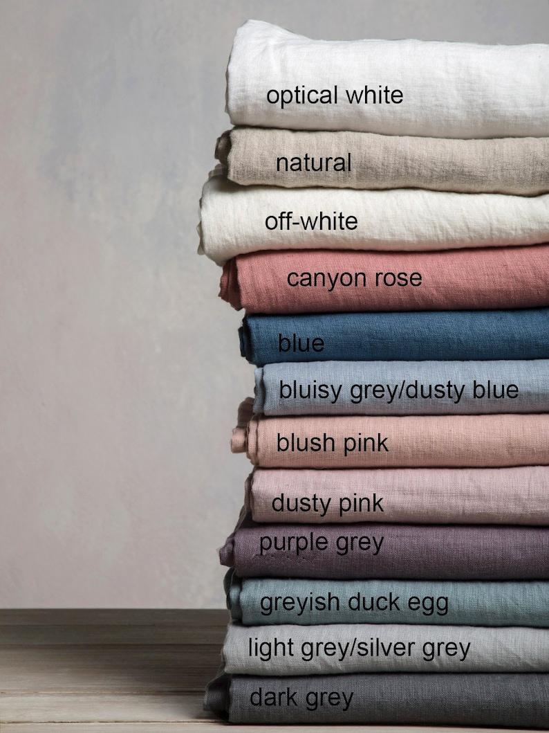 Linen Roman Blind-Black out Roman Blind in Greyish duck egg color Hardware is Included-Custom Roman Blind