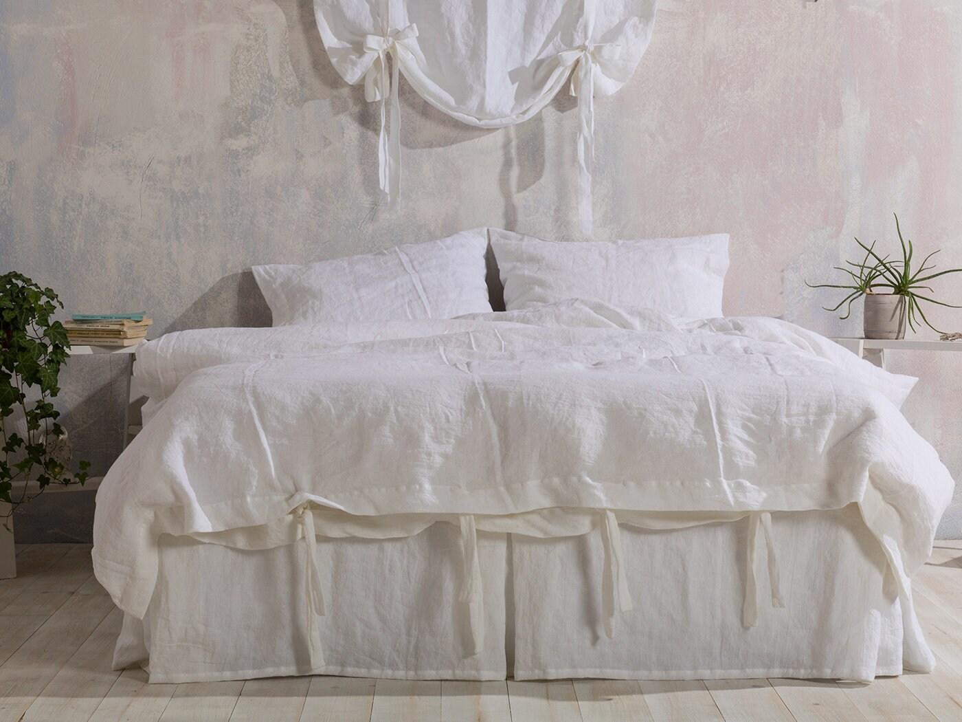 Linen Duvet Cover White Washed Linen Duvet Cover Linen Bedding Linen Duvet Cover Available In Any Size