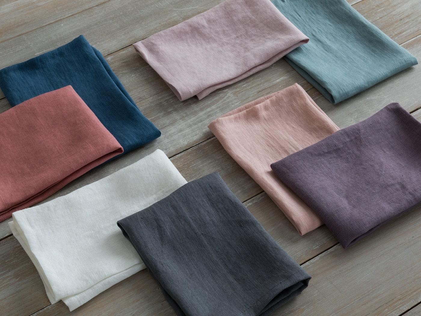 Linen Napkins Set Of 4 6 8 Washed Natural Linen Napkins 16 5 X16 5 42x42cm Wedding Linen Napkins Linen Table Cloth Napkins