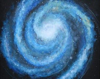 PRINT of original space painting