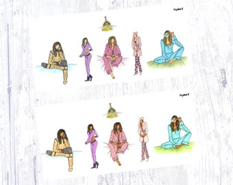 Pajama II Sticker Set