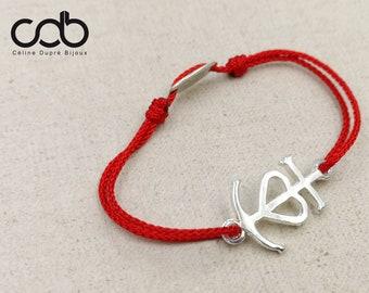 132aed64e95 Bracelet cordon réglable