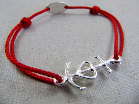 326c09a0e55 Bracelet réglable Croix de Camargue 13X21mm - étainfinition argent 925 -  couleur cordon tressé au choix