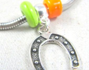 Charm's Horseshoe bracelet - 925 Silver finish