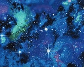 Timeless Treasures - Out of this World - Galaxy - Cotton Fabric by the Yard or Select Length C4847-GALAX photo