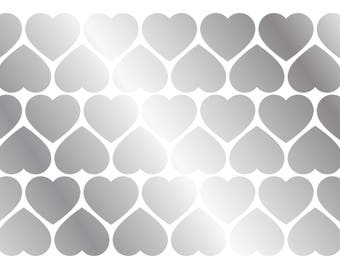 Stickers hearts (x 39)